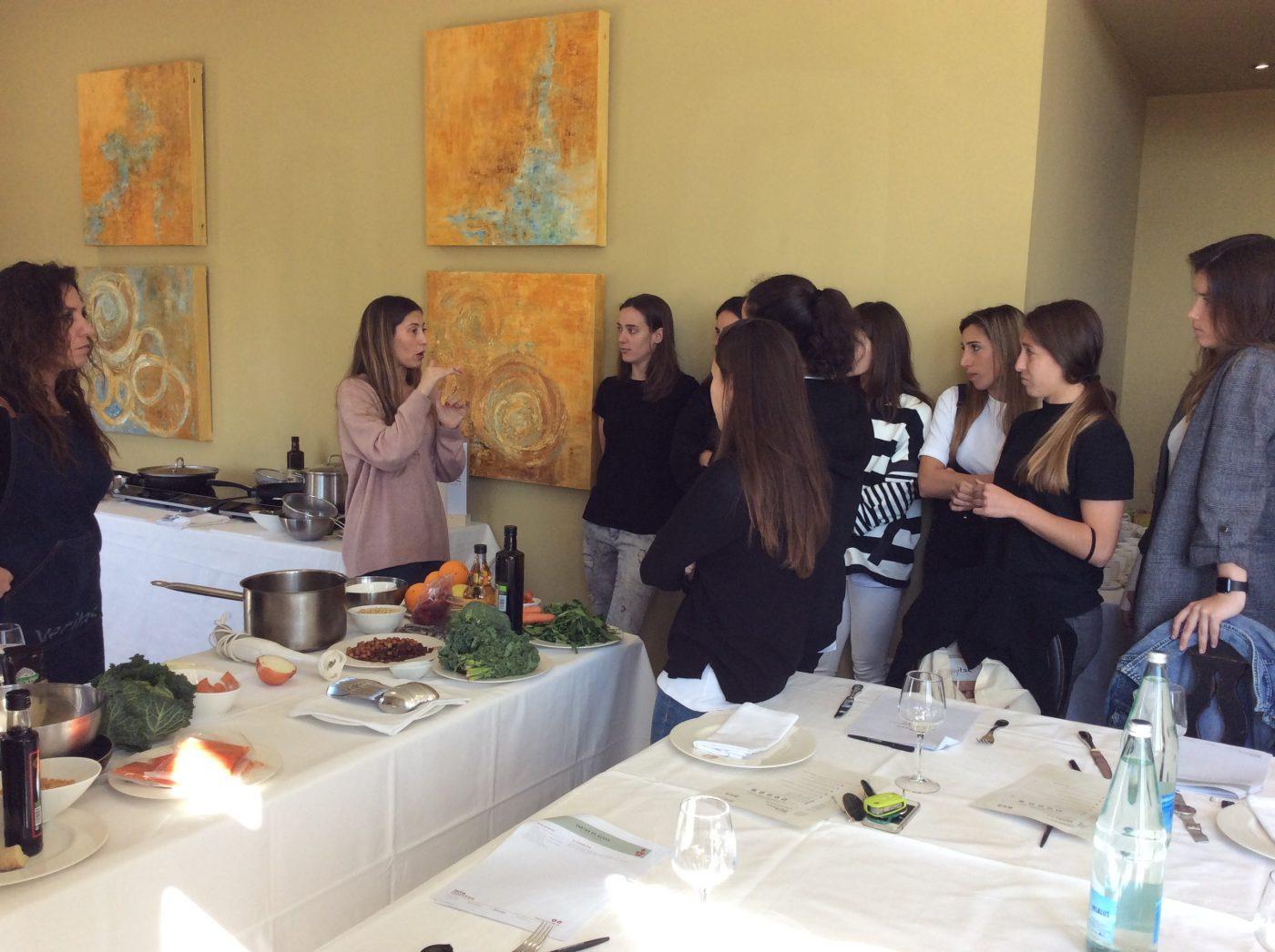 Cocina saludable con el equipo del Athletic de Bilbao Femenino