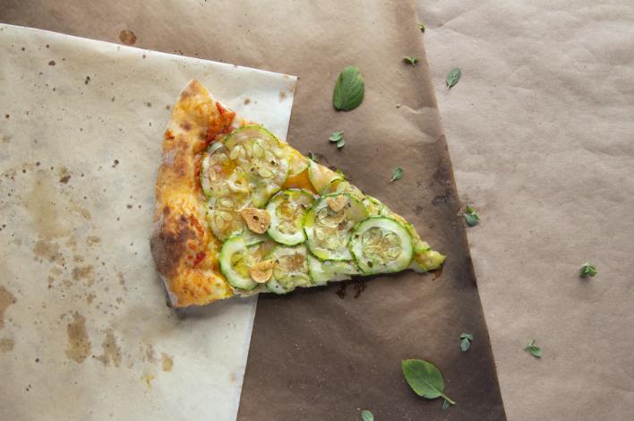 La pizza saludable perfecta